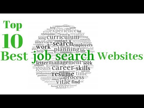 Top 10 online Job Search Websites – Full Time/ Part time Jobs