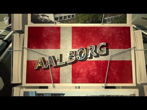 postcards Aalborg Denmark