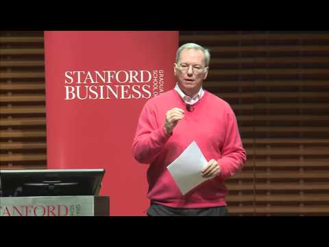 "Eric Schmidt, Executive Chairman, Alphabet Inc.: Just Say ""Yes"""