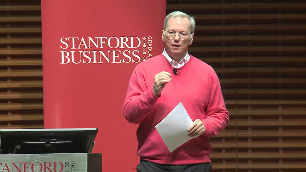 """Download Eric Schmidt, Executive Chairman, Alphabet Inc.: Just Say """"Yes"""""""