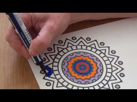 My First ASMR Colouring, Tingles, Shivers, Calmness, Relaxation