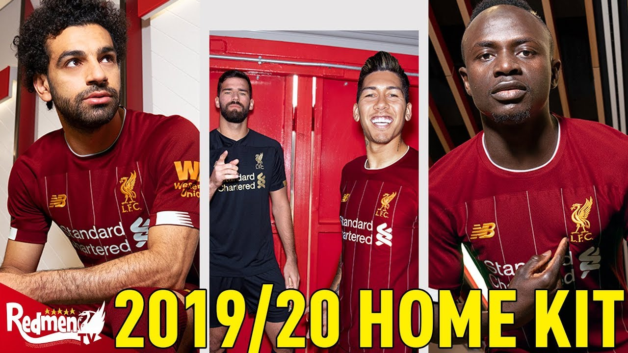 7b257add1d1 LIVERPOOL HOME KIT 2019/20 Revealed - YouTube