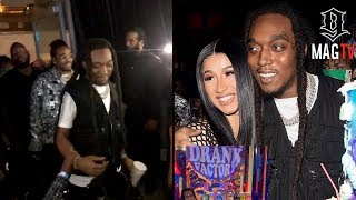 Download lagu Offset & Cardi B Throw Takeoff A Surprise 25th G-Day Party!