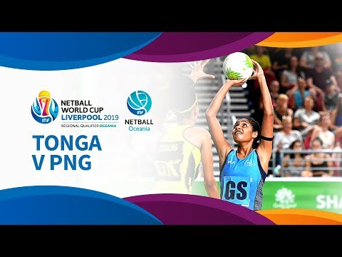 Tonga v PNG I Day 3 I Oceania Netball World Cup Qualifiers