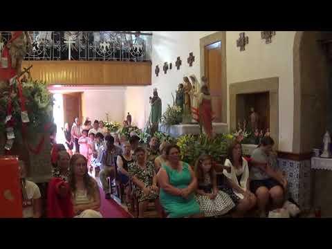 Souto da Velha, 11 Agosto 2018. Festas S. Sebastião. - Missa Solene.