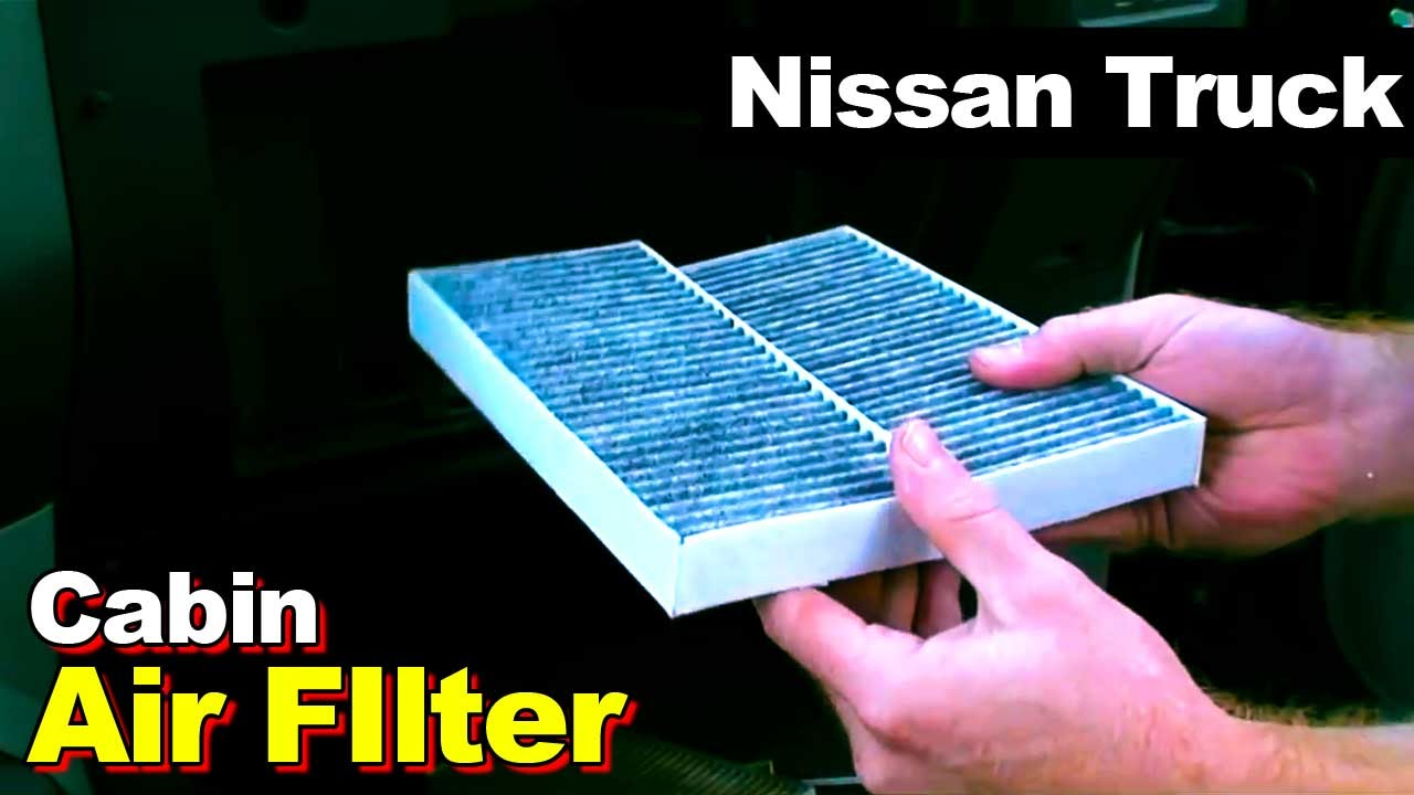 2004 2012 nissan titan armada qx56 cabin air filter. Black Bedroom Furniture Sets. Home Design Ideas