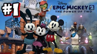 Epic Mickey 2 Wii U - Part 1
