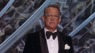Two-time oscar winner tom hanks announces the los angeles addition of a museum honoring love and labor motion picture making. watch more highlights fr...