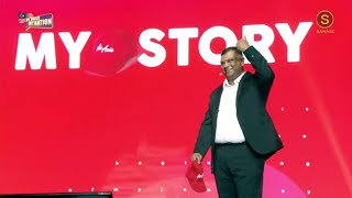 Airasia's Tony Fernandes At My Voice My Nation 2019
