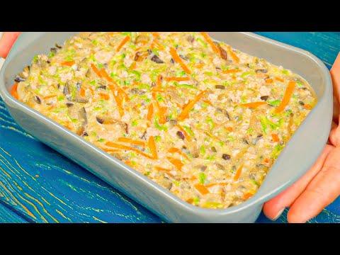 Просто нарежьте овощи соломкой! Готовлю ужин из самых простых продуктов!