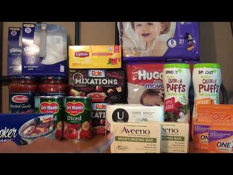 PUBLIX GROCERY HAUL 09/28-10/4 FREEBIES AND MONEYMAKERS $0.39 PER ITEM