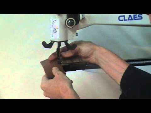 Claes Patch Machine YouTube Simple Pilgrim Shoe Sewing Machine Company