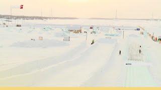 Отвечает ли требованиям безопасности ледовой городок в Якутске