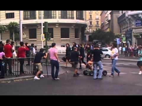 Кино на улицах Мадрида