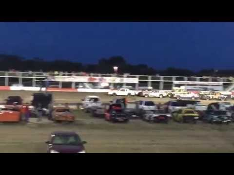 Beatrice Speedway IMCA stock car Feature 7-8-2016