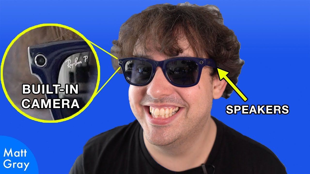 Youtube Thumbnail Image: 😎 Ray Ban/Facebook Sunglasses: First Impressions