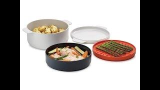 Набор посуды для микроволновки Joseph Joseph M-Cuisine™ Stackable cooking set - видеообзор