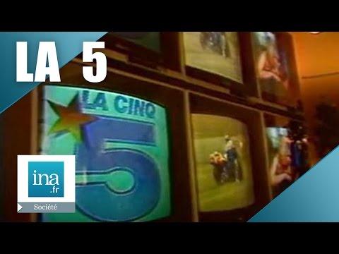 L'histoire de La Cinq, la première chaîne privée gratuite en France | Archive INA