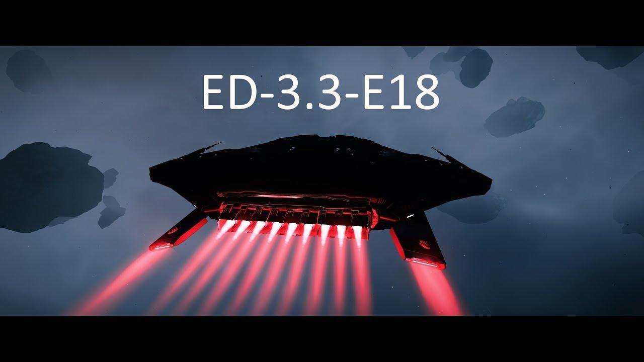Elite Dangerous 3 3 E18 - Deep Space Void Opal Mining