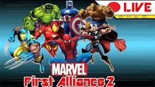 Marvel First Alliance 2 (Fã Game): Jogando com meu filho