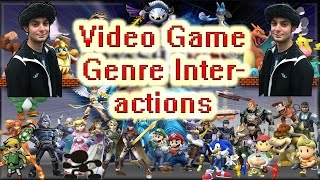 Types of Video Game Genre Interactions