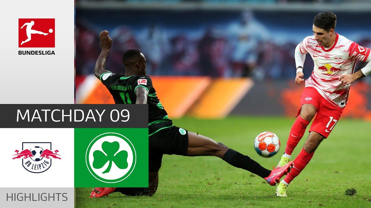 RB Leipzig  Greuther Frth 41  Highlights  Matchday 9  Bundesliga 202122