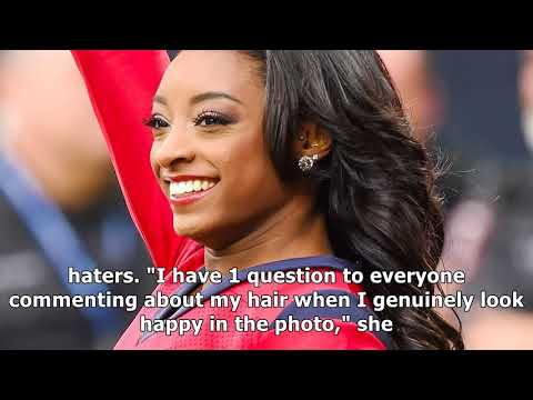 Simone biles confronted her hair haters — & it's too good