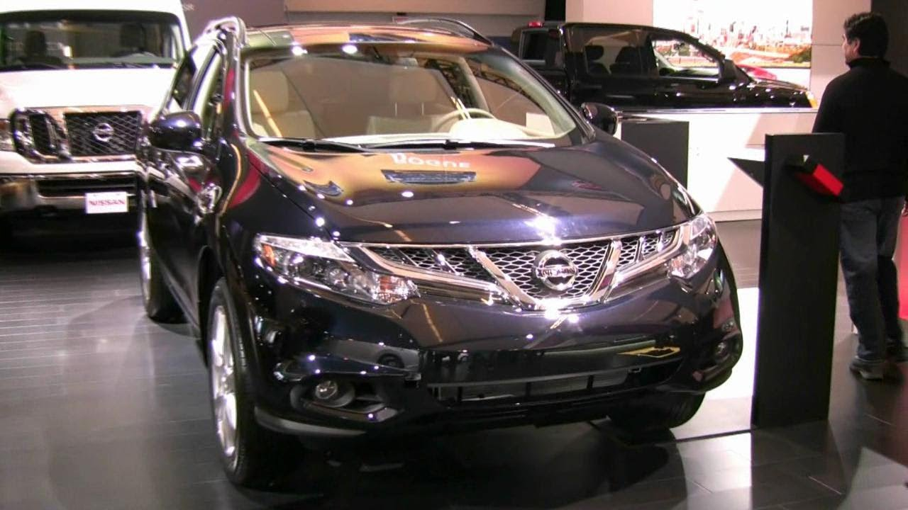 2012 nissan murano platinium exterior and interior at 2012 2012 nissan murano platinium exterior and interior at 2012 montreal auto show vanachro Gallery