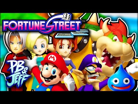 RIGGED ECONOMY! - Fortune Street | Wii (Part 1)