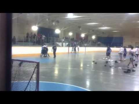 Jr A goalie fight 05/02/12
