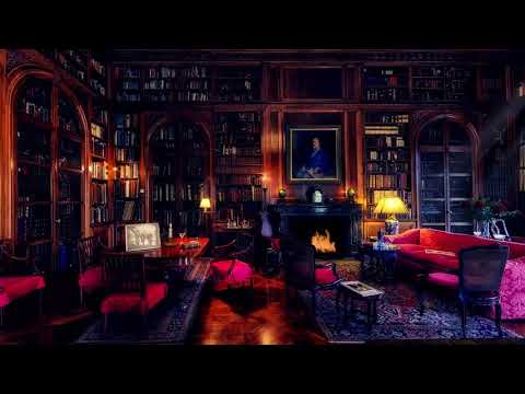 🎧 Library Room Ambience | 8 HOURS | Relaxing asmr Soundscape