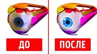 как сделать зарядку для глаз