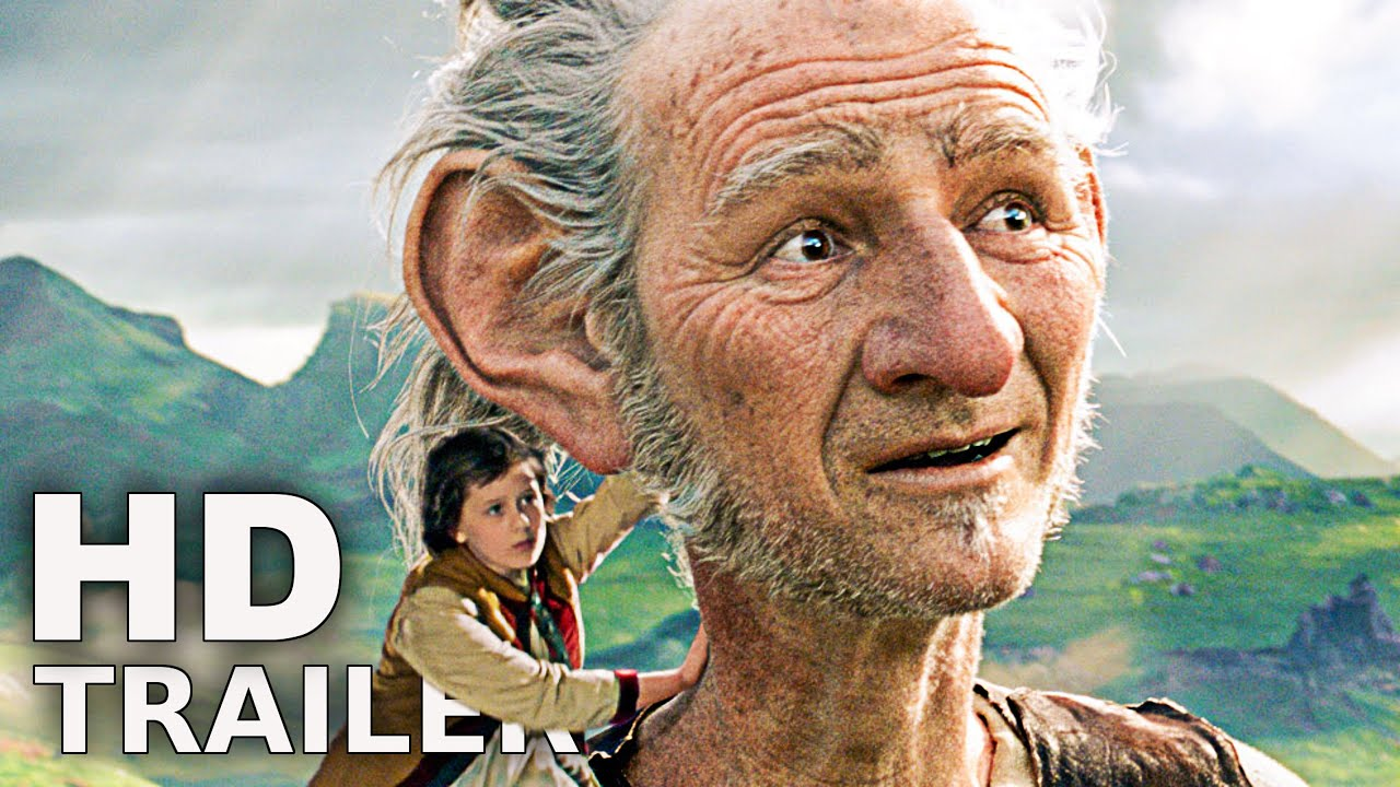 BFG - BIG FRIENDLY GIANT Trailer 3 German Deutsch (2016)