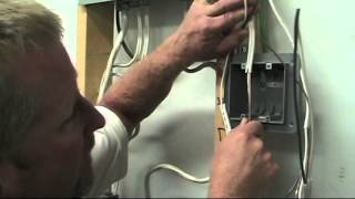 How to Wire a Switch Part Two: Installing the Cables into the Box