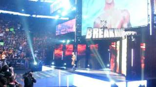 Randy Orton's entrance at WWE Breaking Point 13th sept.