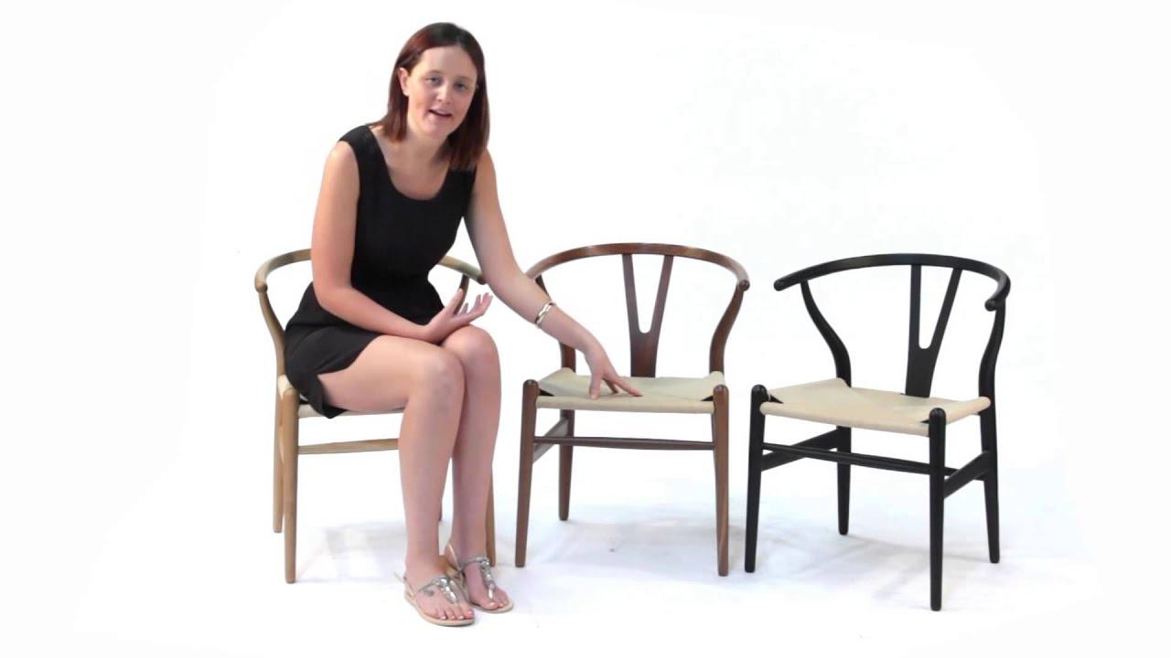 Replica Hans Wegner Wishbone Chair Ash Beech Black Red From Matt