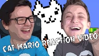Cat Mario Reactionooo | TheVR Reaction video