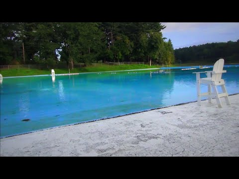 Central Park Pool in Schenectady  August 2014
