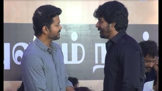 Actor vijay ,sivakarthigeyan become close friends,Participates in Cauvery and Sterlite issue,protest