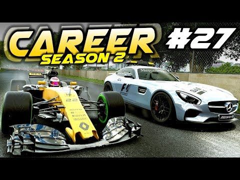 F1 2017 Career Mode Part 27: CHAOS IN CANADA WITH DNFs