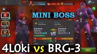 Alliance War: 4L0ki -vs- BRG-3   Season 2, War 18   Marvel Contest of Champions