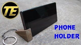 DIY - Making a phone holder