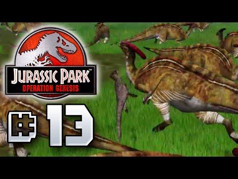 Parasaurolophus Attack Back??! - Jurassic Park Operation Genesis [ Jurassic Park Month ]