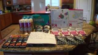 Target Couponing Haul 8/11----TONS OF FREEBIES and BACK TO SCHOOL ITEMS Thumbnail