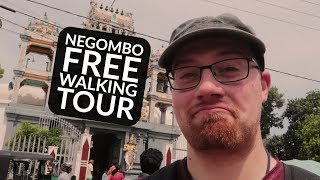 Sri Lanka Vlog 2 - Negombo FREE* walking tour