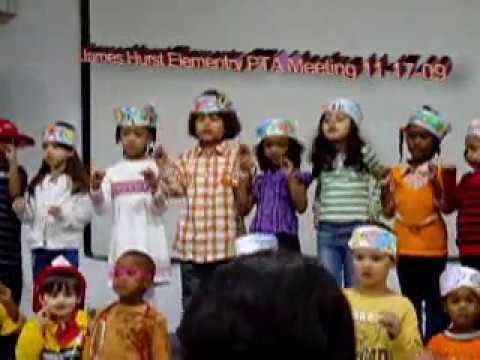 Anthony James Hurst Elementary School PTA 11-17-09