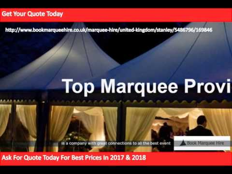 Marquee hire Stanley