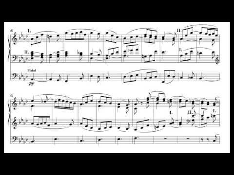 Adagio from Organ Sonata in F minor, Op.65 - Felix Mendelssohn