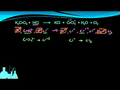 Chemistry 13.6a Balancing Redox by Half-reactions (Acidic)