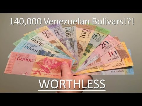 Venezuelan Hyperinflation: Worthless Currency And The Heroes Of Venezuela